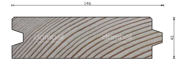 Profil S 40x146