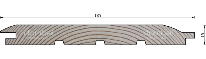 Profil FASADA ELK 19x189
