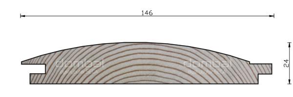 Profil D 24x146