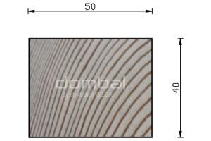 Kantówki i łaty drewniane 40x50cm SECA