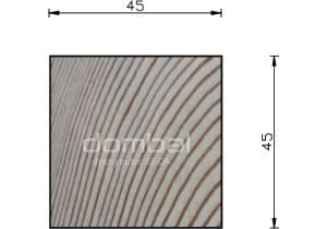 Kantówki i łaty 45x45cm SECA