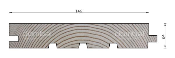 Profil O 24x146