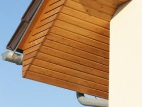 Podbitka drewniana profil E