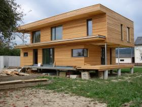 Elewacja drewniana seca