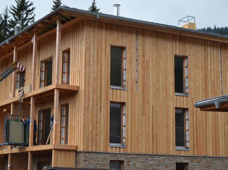 fasada modrzew syberyjski SECA