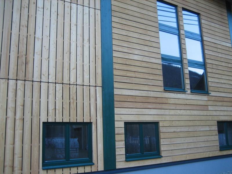 Elewacja drewno seca Profil A