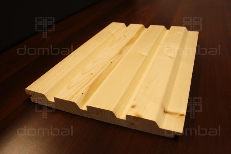 Góra Profil ROMB duo - Deska elewacyjna - SECA drewno VF26