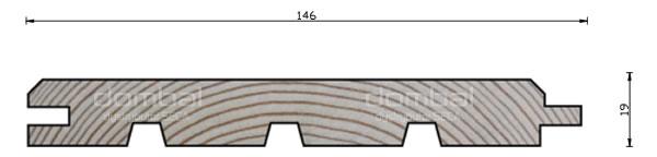 Profil elewacyjny C 146x19